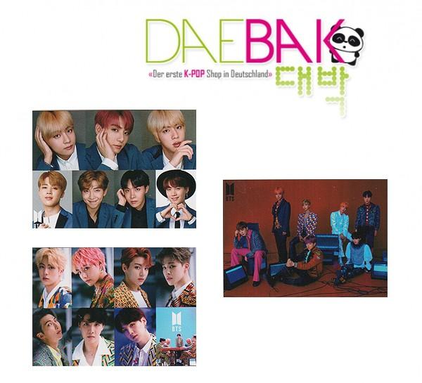 BTS (Bangtan Boys) - Posterset #03