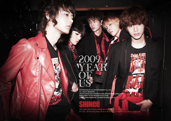 SHINEE - 2009, YEAR OF US 3rd Mini Album