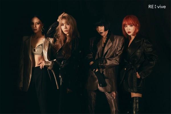 Brown Eyed Girls Album - RE_vive