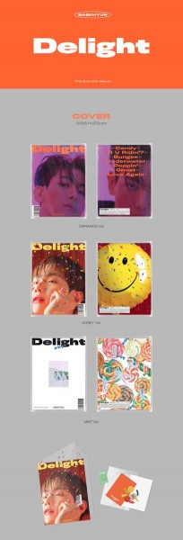 BAEK HYUN - Mini Album Vol.2 [Delight]