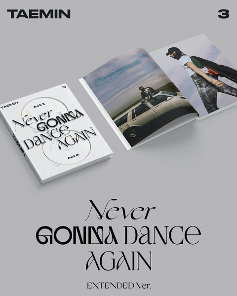 Taemin (SHINee) Album Vol. 3 - Never Gonna Dance Again (Extended Ver.)