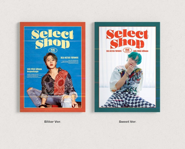 HA SUNG WOON - SELECT SHOP 5th Mini Album Repackage