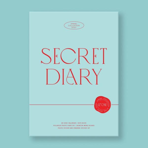 IZ*ONE SECRET DIARY Kalender Package