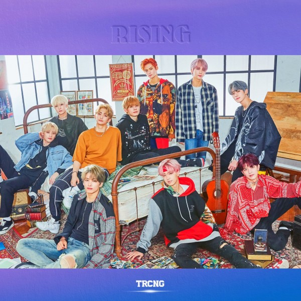 TRCNG 2nd Single Album - RISING