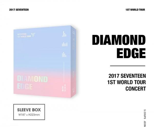 Seventeen - 2017 SEVENTEEN 1ST WORLD TOUR [DIAMOND EDGE IN SEOUL] KONZERT DVD (LAST IN STOCK!)