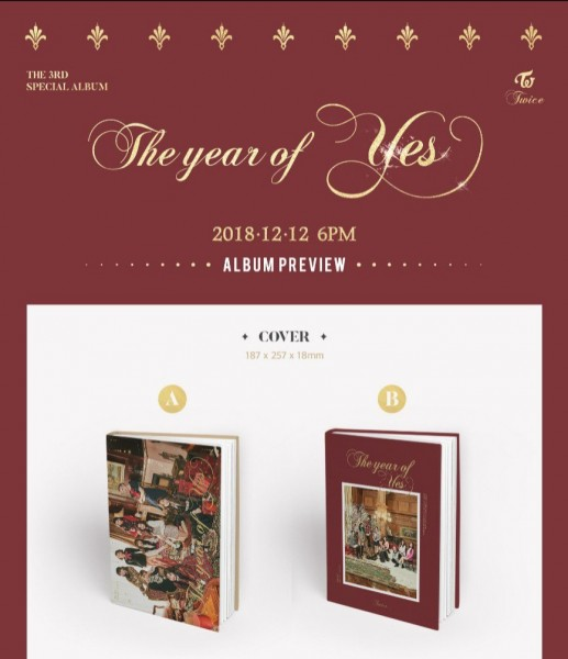 Twice 3rd Special Album - The Year Of YES (B Vers.)