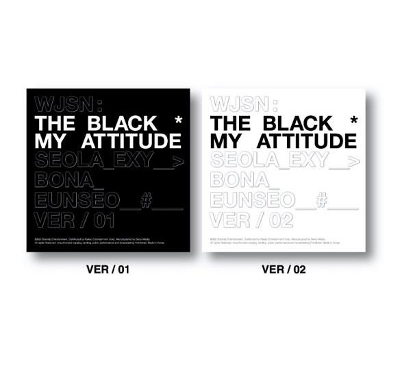 WJSN THE BLACK (Cosmic Girls) Single Album Vol. 1 - MY ATTITUDE (white Version)