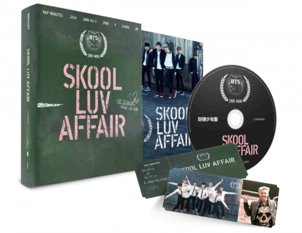 BTS (Bangtan Boys) - Skool Luv Affair 2nd Mini Album