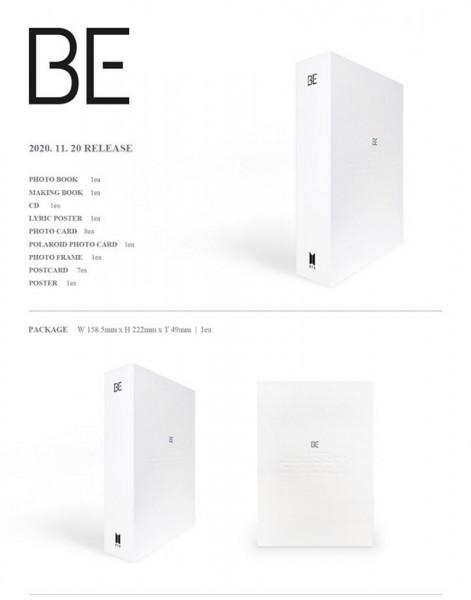BTS - BE (Deluxe Edition) Album