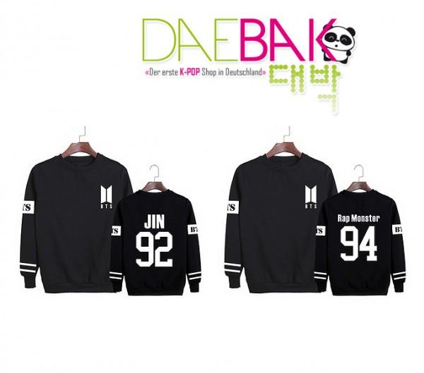 BTS - Member Sweater NEW LOGO (Choose Member)