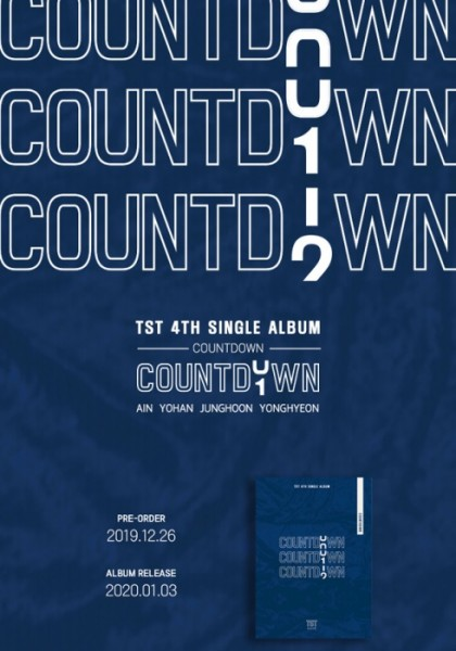 TST Single Album Vol. 4 - COUNTDOWN