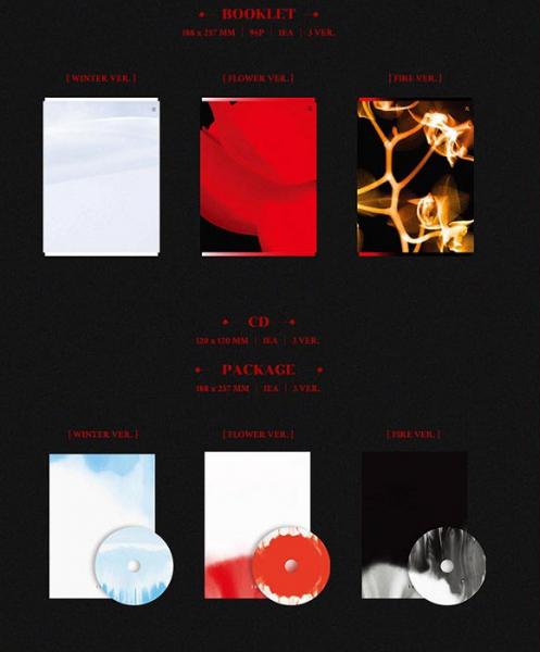 (G)I-DLE Mini Album Vol. 4 - I BURN