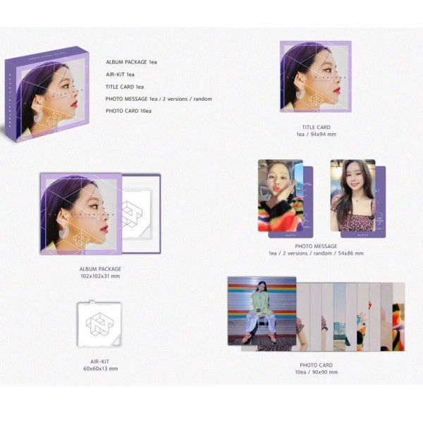 NATTY Single Album Vol. 1 - NINETEEN (Kihno KiT Album)