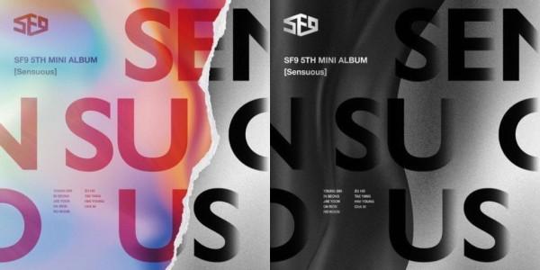 SF9 5th Mini Album - Sensuous (Hidden Emotion Vers.)