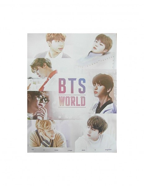 BTS World OST Poster (56x42cm)