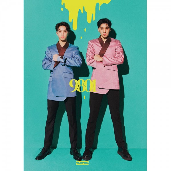 WOOSEOK x KUANLIN 1st Mini Album - 9801