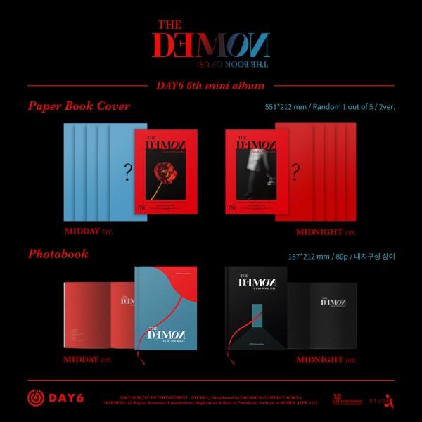 DAY6 6th Mini Album - The Book of Us : The Demon