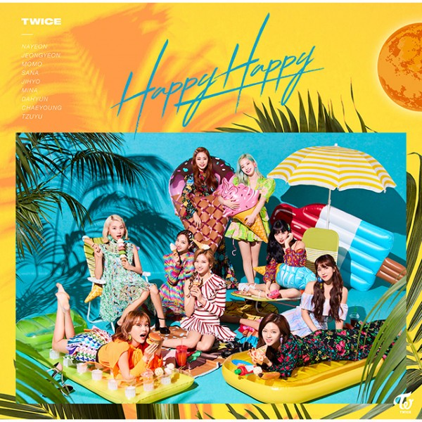 Twice - 4th Japanese Single Happy Happy [Regular Edition]