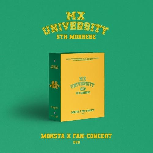 MONSTA X - 2021 FAN-CONCERT MX UNIVERSITY DVD