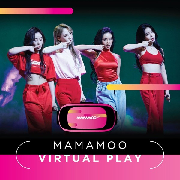 MAMAMOO - Virtual Play Album + Poster (gefaltet)