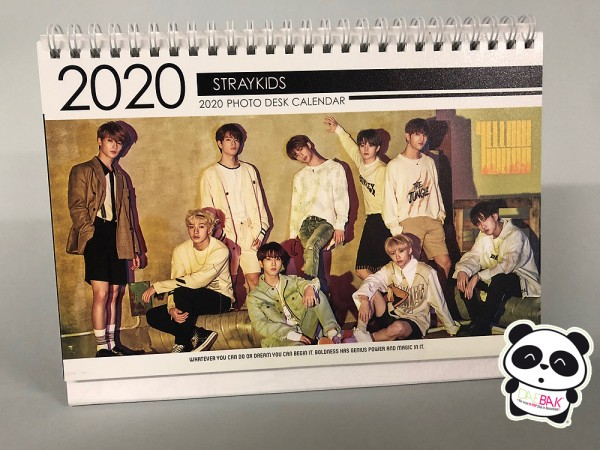 Stray Kids - Tischkalender 2020 / 2021