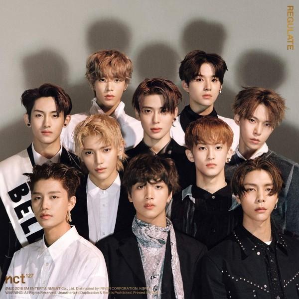 NCT 127 1st Repackage Album - NCT 127 Regulate