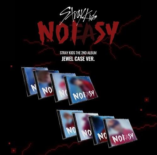 STRAY KIDS - NOEASY [Jewel Case]