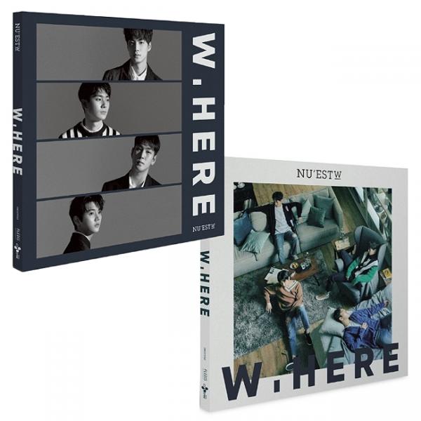 "NU'EST W - ""W.here"" Album (Still Life Vers.)"