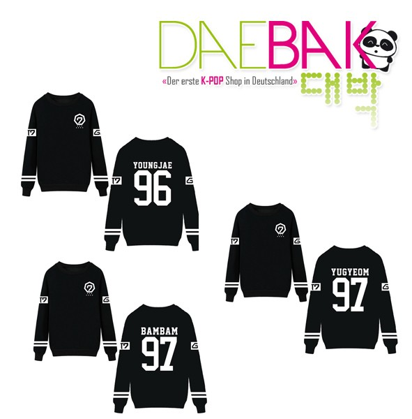 GOT7 - Member Sweater (Schwarz)