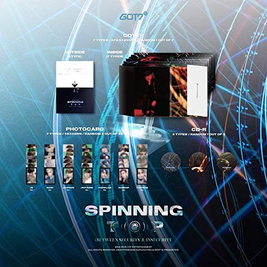 GOT7 Album - Spinning Top